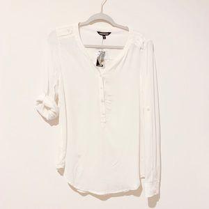 EXPRESS Cream Shirt